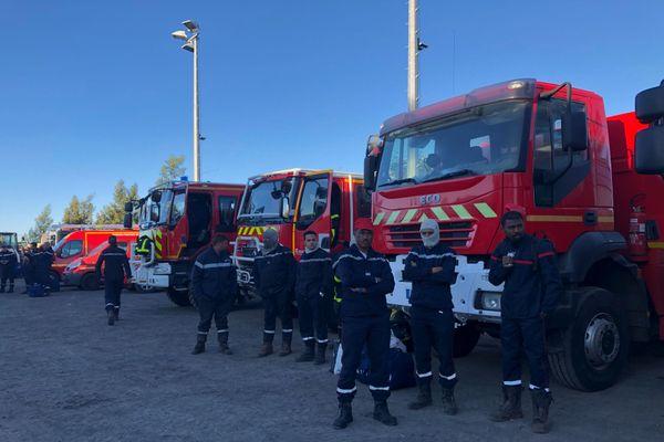 Pompiers mobilisés sur l'incendie du Maïdo