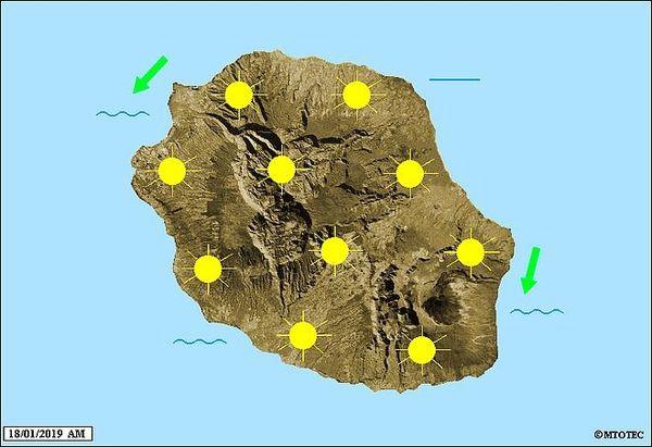 Carte météo