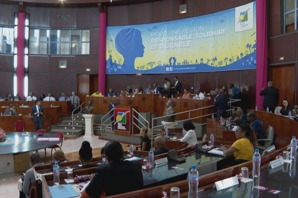 6ème plénière du Conseil Régional