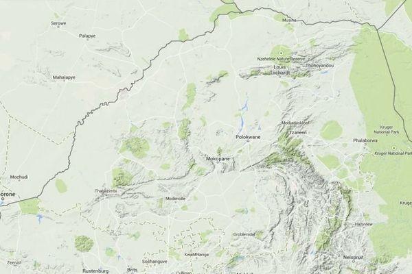 Carte province Limpopo