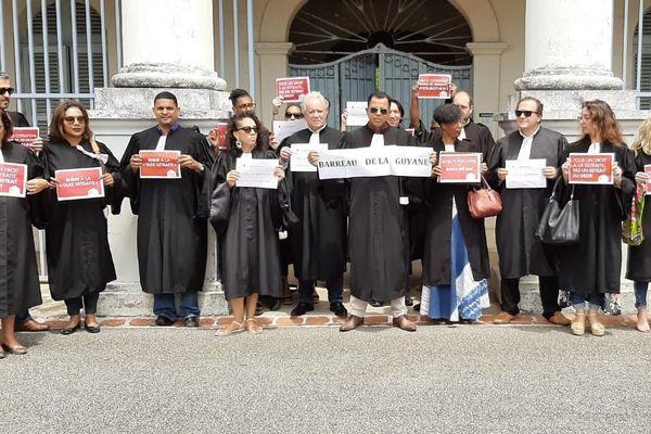 Mobilisation avocats