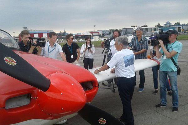 Hugues Jurion pilote tour du monde Khabarovsk Russie (juillet 2017)