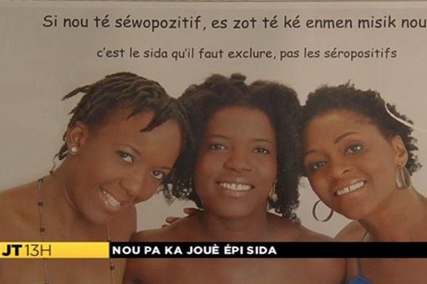 Campagne anti-sida