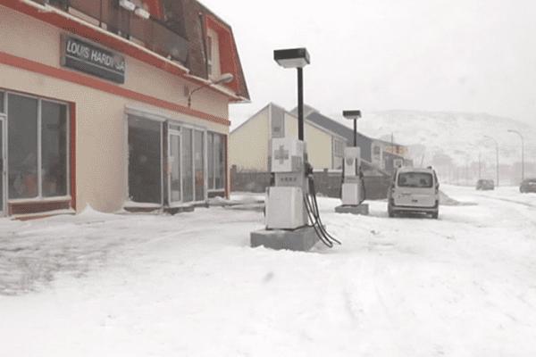 Baisse du prix de l'essence