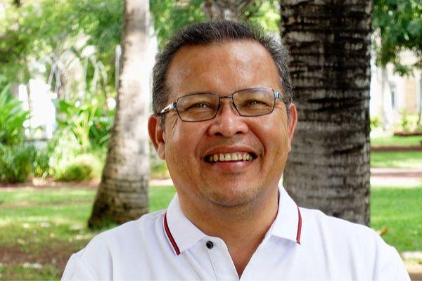 Philippe Cadet, candidat aux Régionales