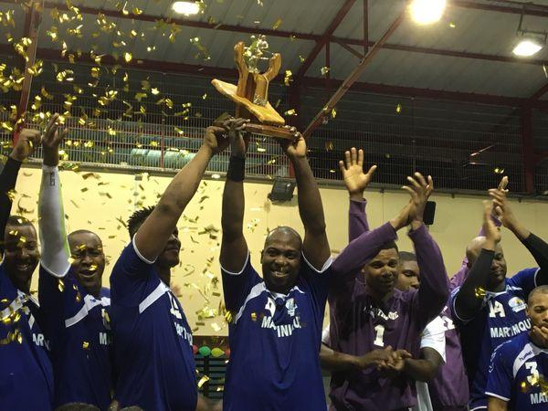 handball martinique homme trophée