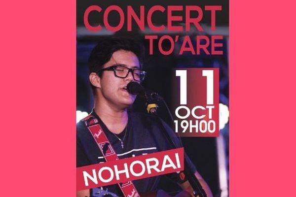 Nohorai Temaiana en concert le 11 octobre