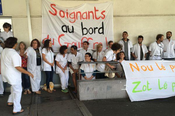 Urgences CHU Sud grève