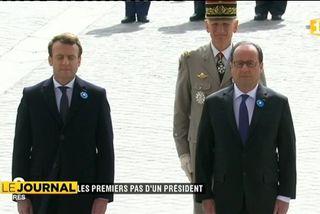 E Macron : les premiers pas du nouveau Président