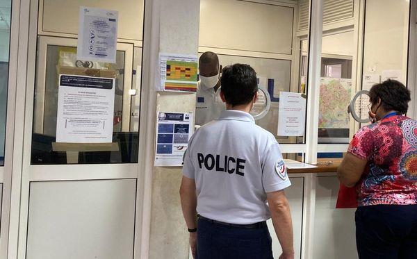 Masques obligatoires au commissariat de Cayenne