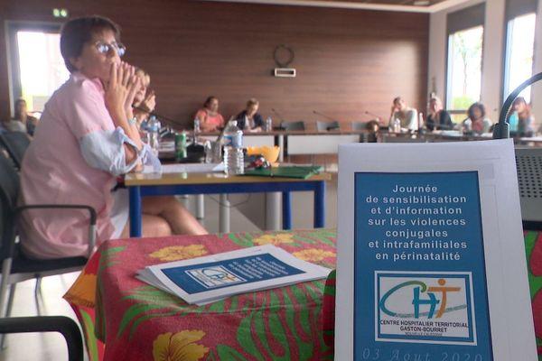 Réunion en réseau contre les violence spendant la grossesse, 3 août 2020