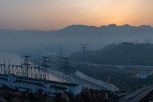 Centrale électrique dans le Yichang en Chine