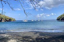 La plage de l'Anse Noire