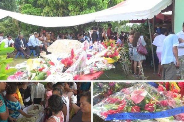 Raiatea : vives émotions aux obsèques des jeunes tués sur la route