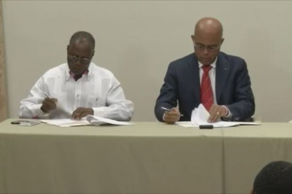 Haiti : départ du Président Martelly