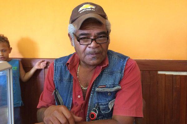 Mario Pébou-Hamène maire de Ouégoa (2017)