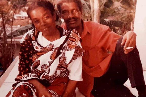 Henriette Saïd ici auprès de son époux, Younoussa Bamana