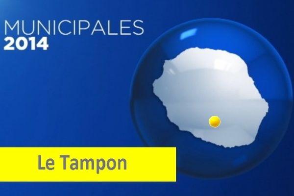 Carte infographie ville Le Tampon (avec punaise)