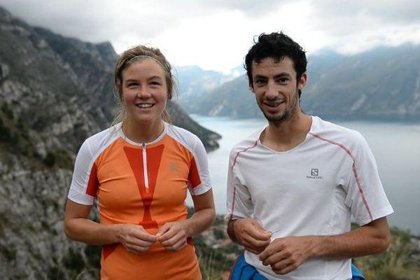 Kilian Jornet et Emelie Forsberg