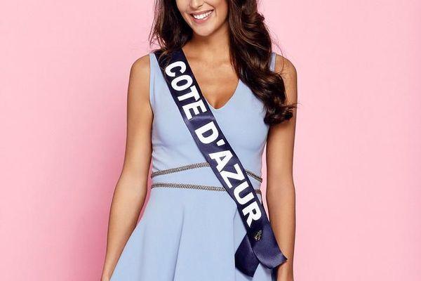 Caroline Perengo,22 ans, Miss Côte d'Azur,