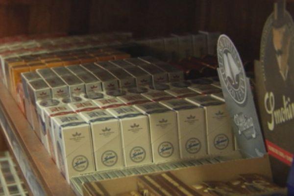 Tabac paquets cigarettes