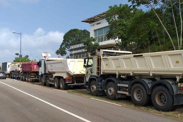 Action de blocage des transporteurs le 31 janvier 2020