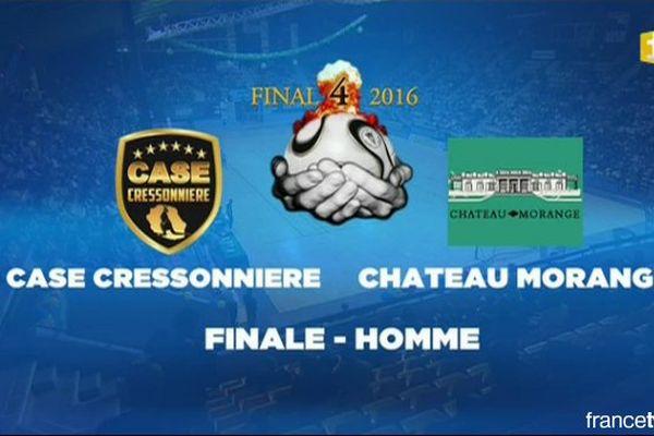 Handball : Case Cressonnière - Château Morange