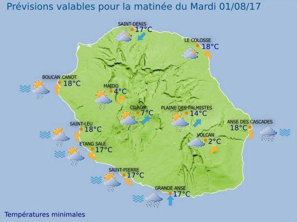20170731 Carte météo matin