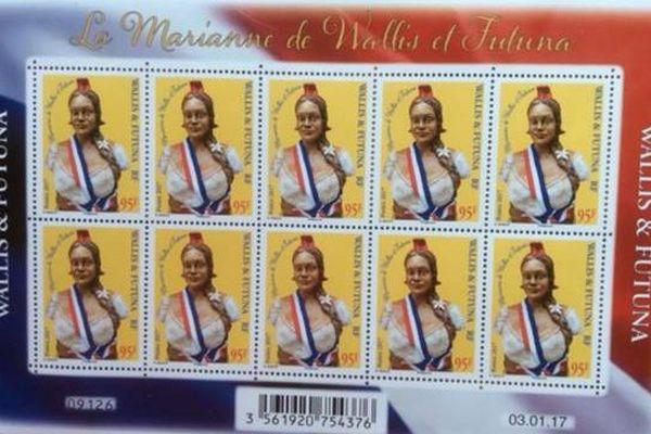 La Marianne de Wallis et Futuna
