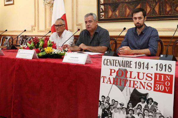 "L'exposition ""Centenaire 1914-1918 / Poilus tahitiens"""