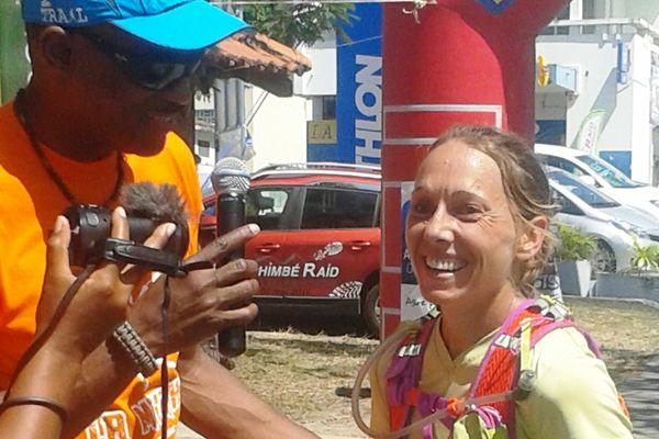 Christelle Lazard, vainqueur chez les femmes des 34km de la Mythik 2016