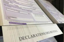 Déclaration impôts revenus
