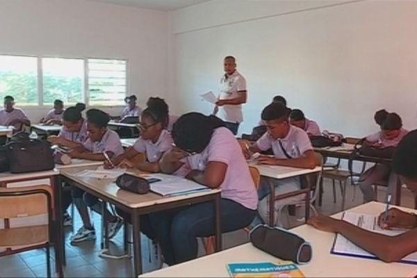 Lycéens de Saint Martin