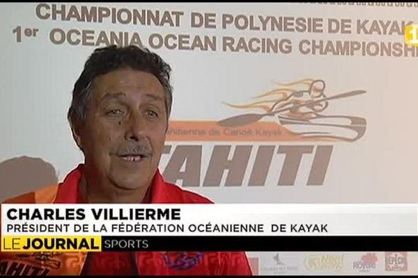 Les Iles Sous Le Vent accueillent le 1er championnat de kayac