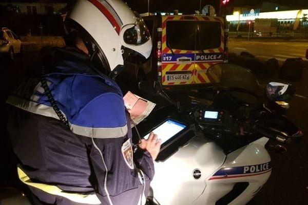Policiers et gendarmes mobilisés lors de la nuit de la Saint-Sylvestre.