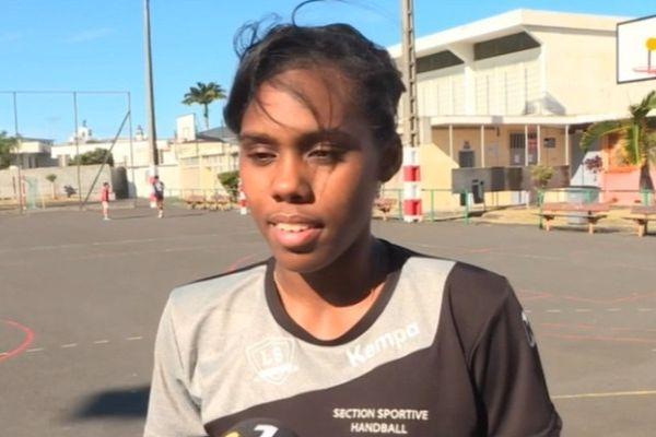 La handballeuse réunionnaise, Withnée Abriska, est décédée brutalement à l'âge de 19 ans