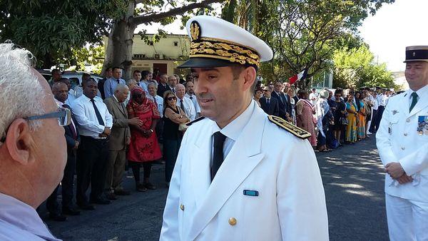 Le Veau préfet de Mayotte