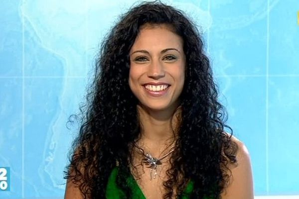 Miss Réunion : Mélissa Agapet, candidate N°9 dans le journal de la mi-journée