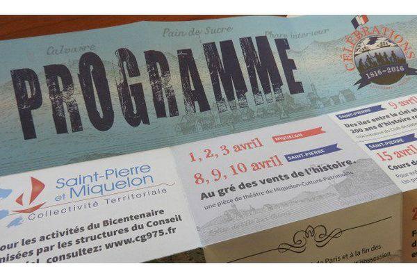 Célébrations 2016 dévoile les festivités à venir à Saint-Pierre et Miquelon