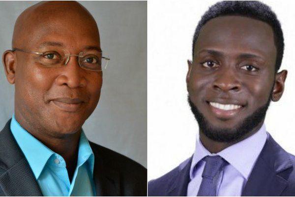 Gabriel Serville et Lénaïck Adam ont remporté les législatives en Guyane.