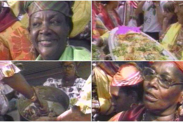 Dans les coulisses de la fête des cuisinières à la fin des années 80 en Guadeloupe