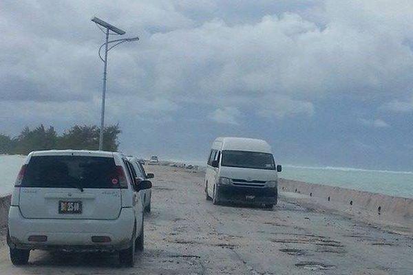 Route principale de Tarawa