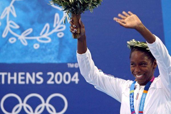 Malia Mettela médaille 2004