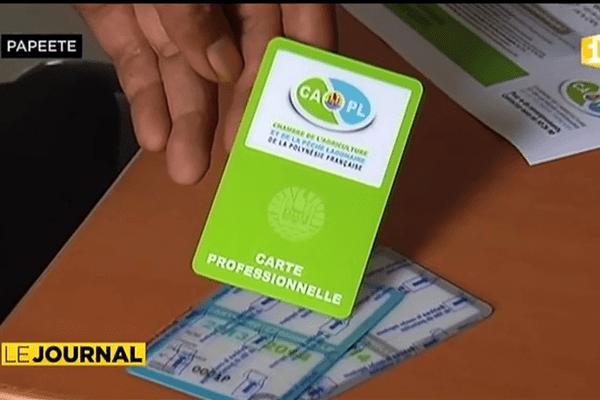 Les agriculteurs devront payer leur carte professionnelle