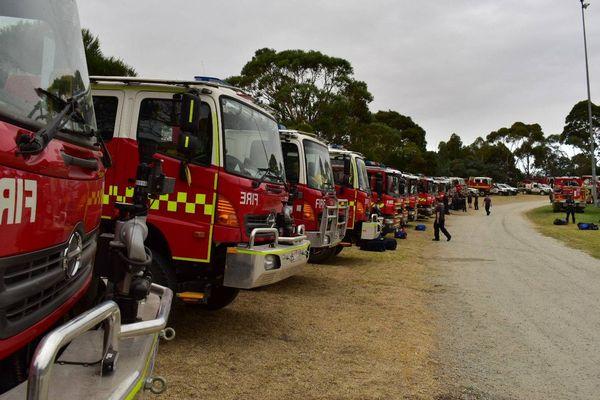 Incendie Australie pompiers