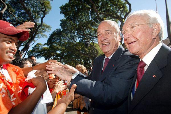 Visite officielle de Jacques Chirac en Polynésie