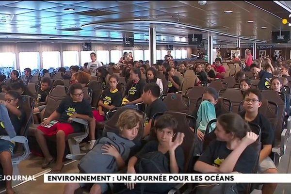 200 enfants sensibilisés à la protection des océans