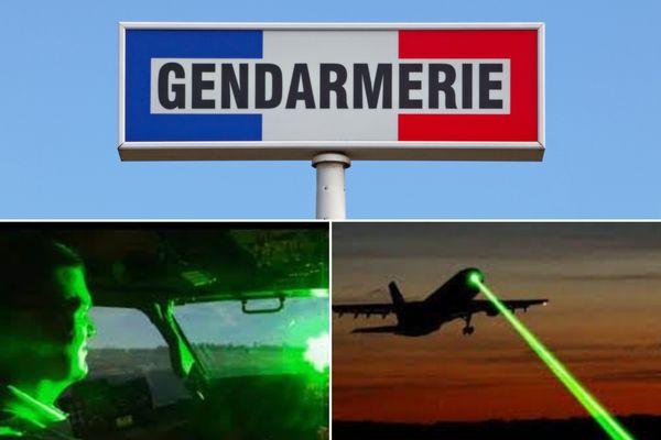 Gendarmerie nationale : usage faisceau laser sur avion