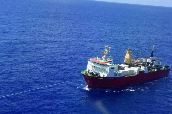 La Marine Nationale au secours de la goëlette Saint Xavier Maris Stella 4