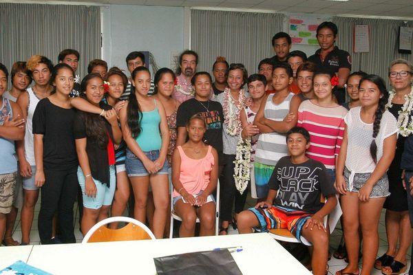 classes défense collège Taravao